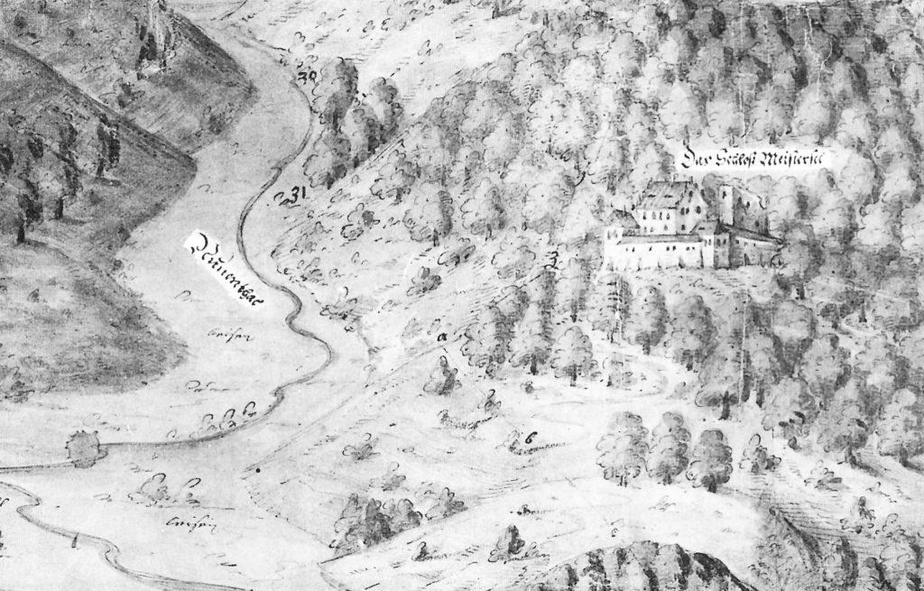 Karte 1564