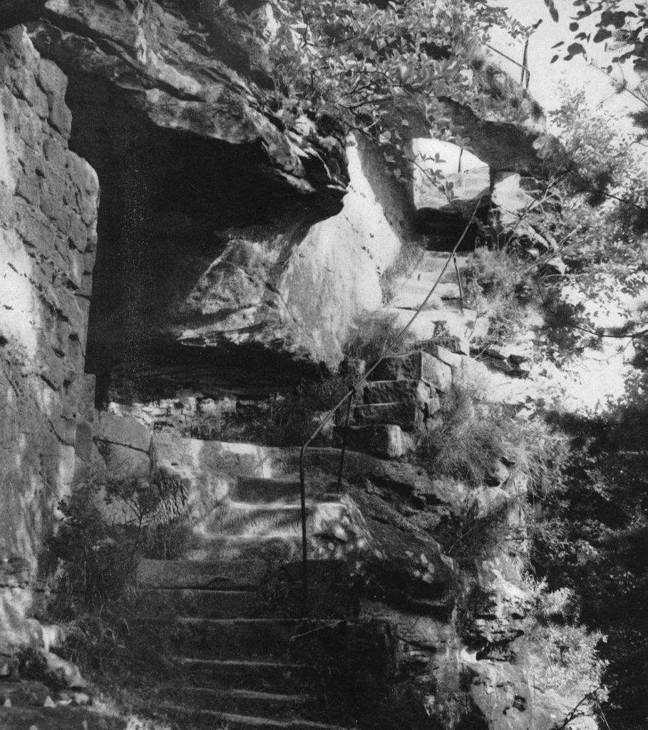 Treppe 1958